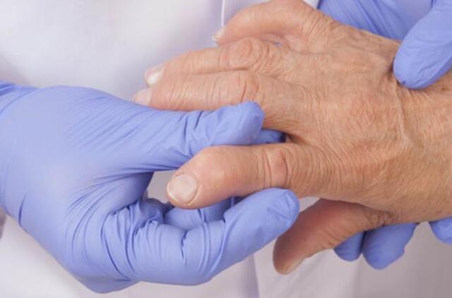 palaiko ir rankų skausmo