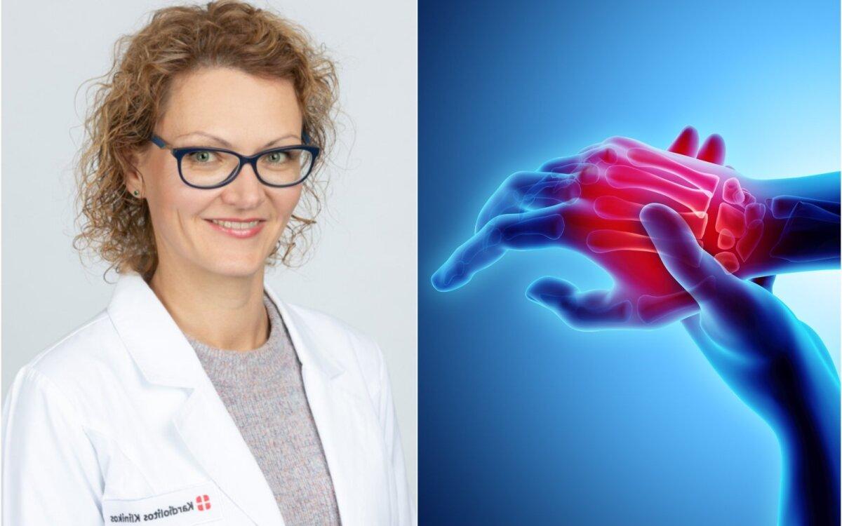 artritas artritas rankos gydymas sąnarių nutirpęs visas rankas