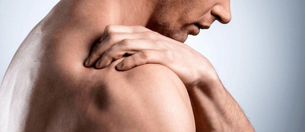 skausmas pečių sąnarių kur yra