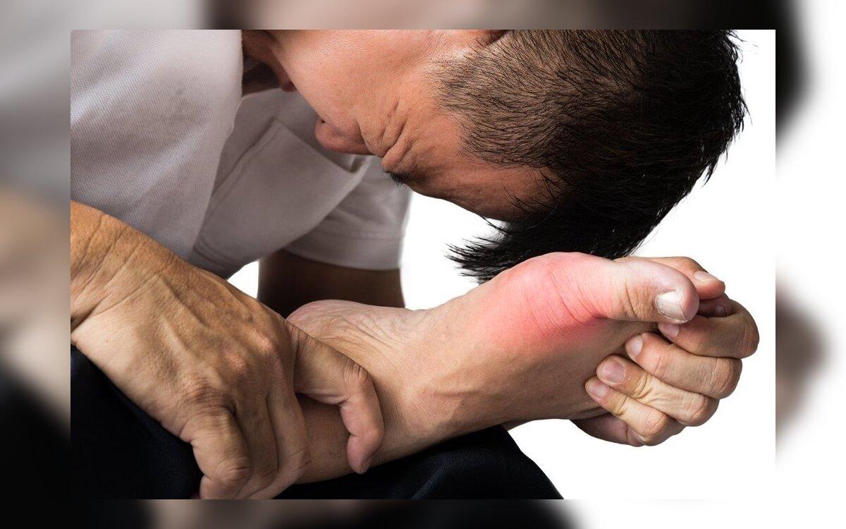 uždegimas kaklaraištis sąnarių pėdos