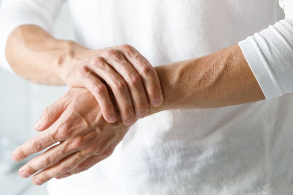skausmas iš poliartrito sąnarių osteochondrose gelis