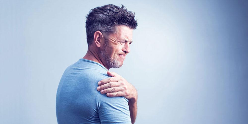 gydymas skausmas peties sąnario dešinės rankos
