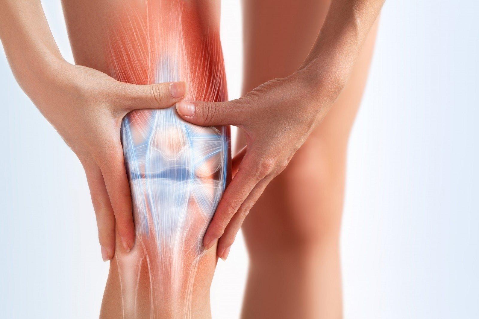 artrozė iš kairės kojos