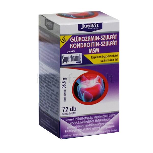 gliukozaminas 500 ir chondroitinas 400 lėtinė liga yra šmeižtas
