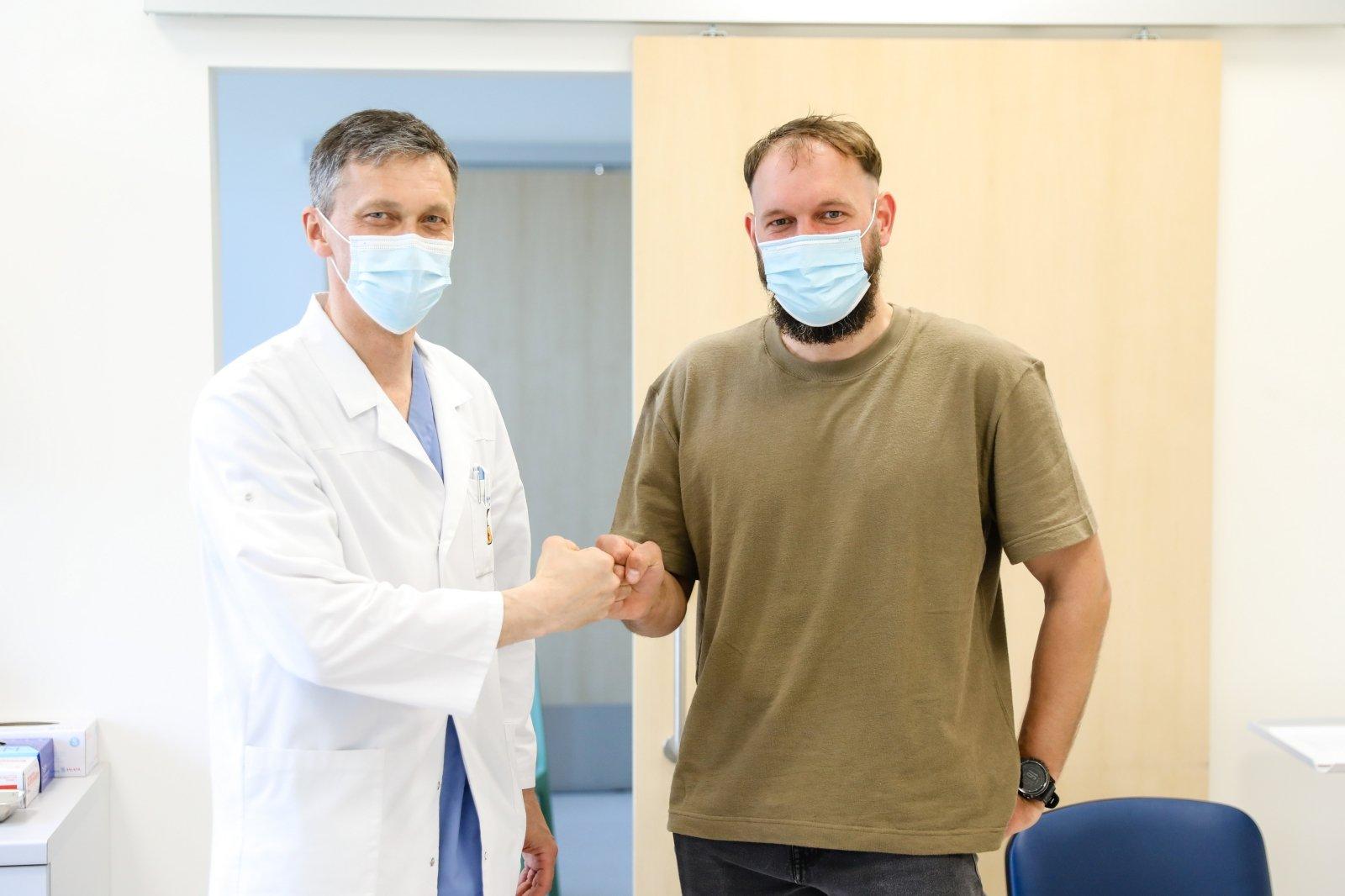 gydymas sąnarių slaugytojų