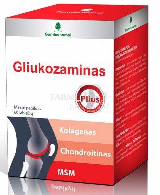 doppel herz gliukozamino chondroitino kaina