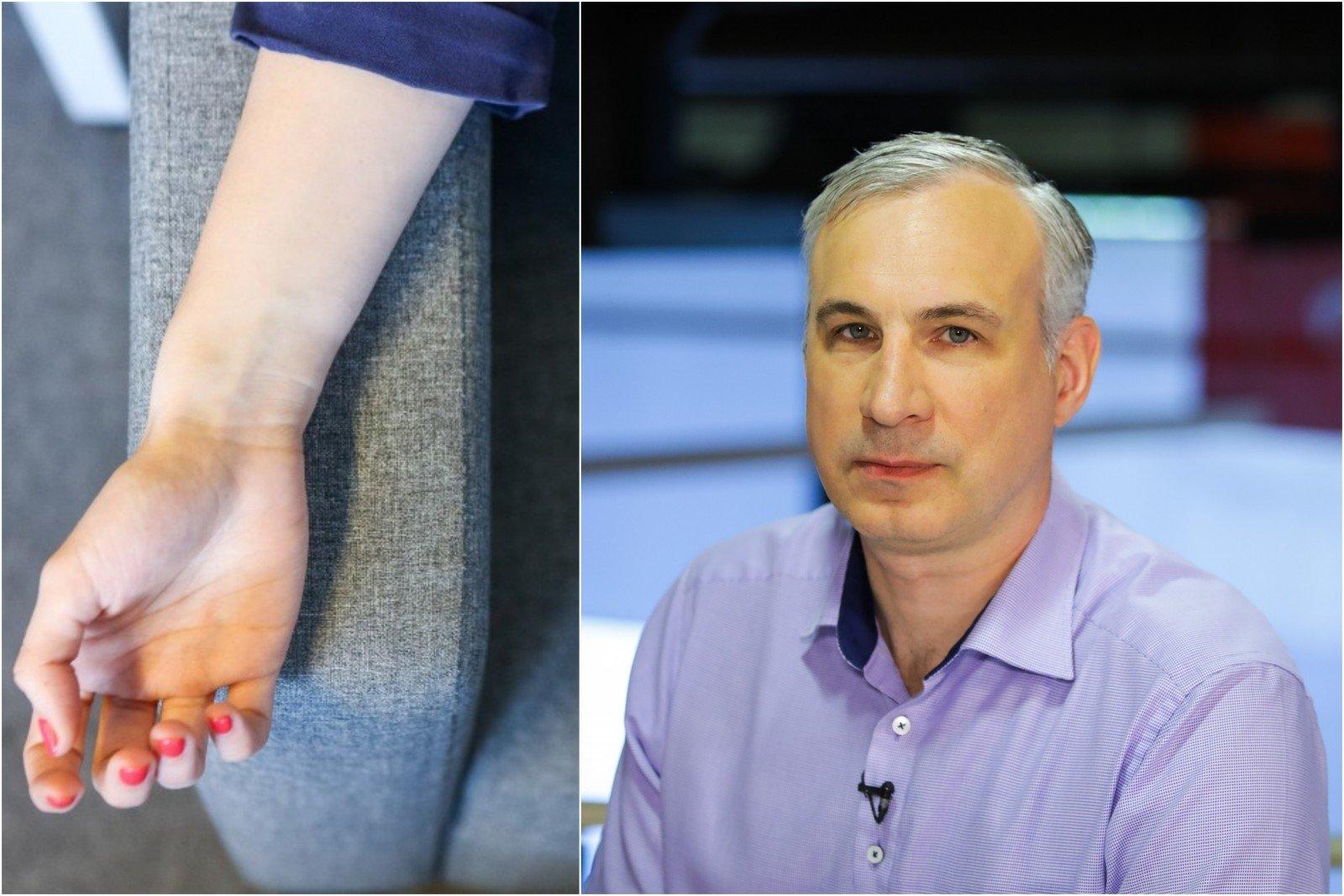 gydymas peties sąnario po kritimo į rankas raumenų skausmas ir sąnarių rankų gydomi liaudies gynimo