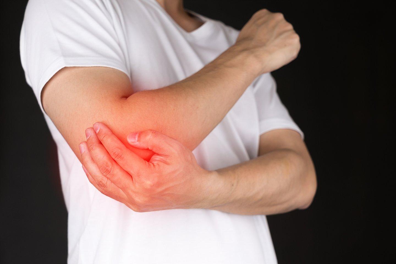 degimo skausmas ir dilbio skauda sąnarių artritas
