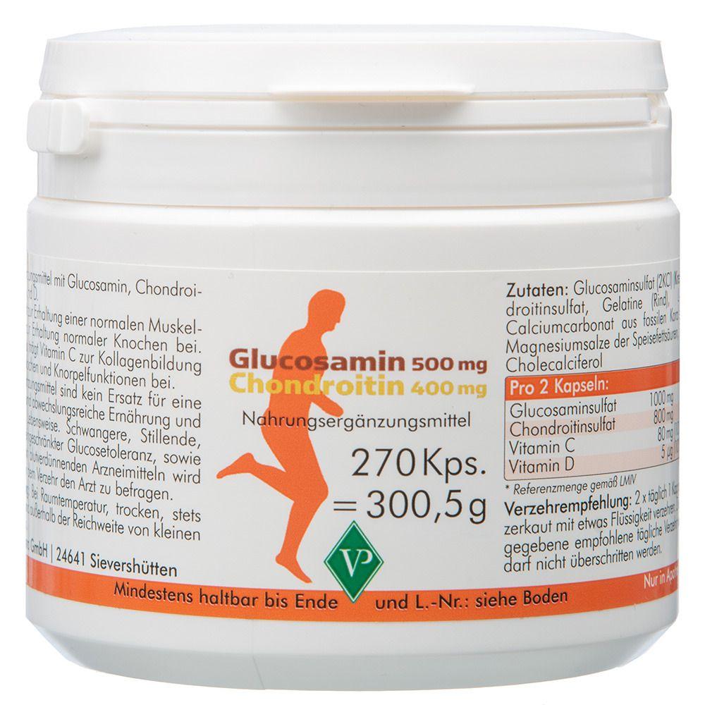 gliukozamino 500 mg 500 mg chondroitino