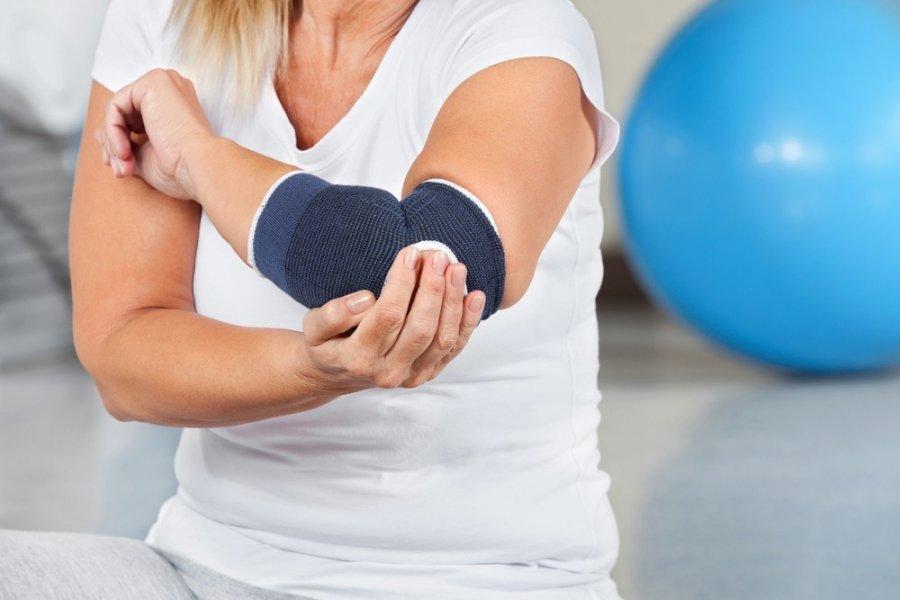 gydymas lūžių kaulų alkūnės sąnario