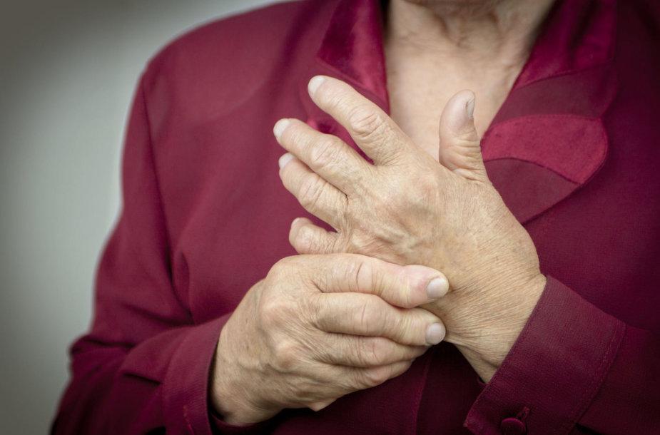 kas yra artritas piršto rankos kai tepalas sąnarių