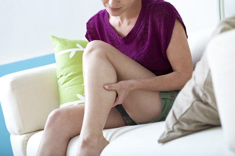 kojų blauzdų skausmas