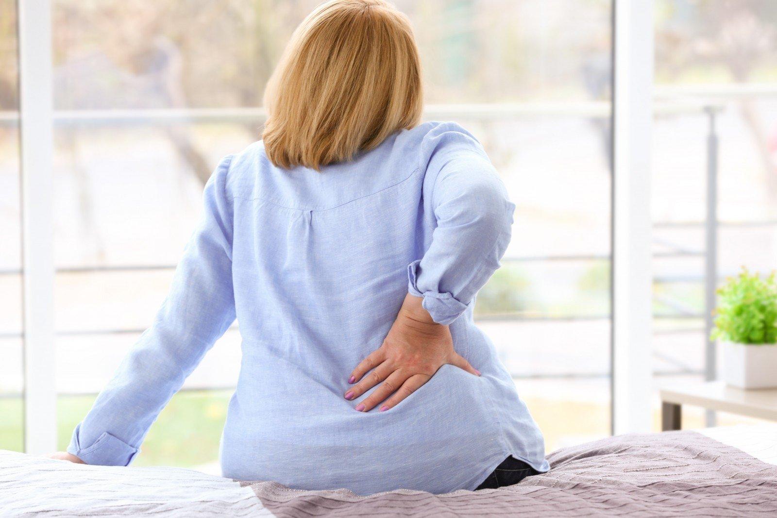 lentelės su nugaros skausmas ir sąnarių