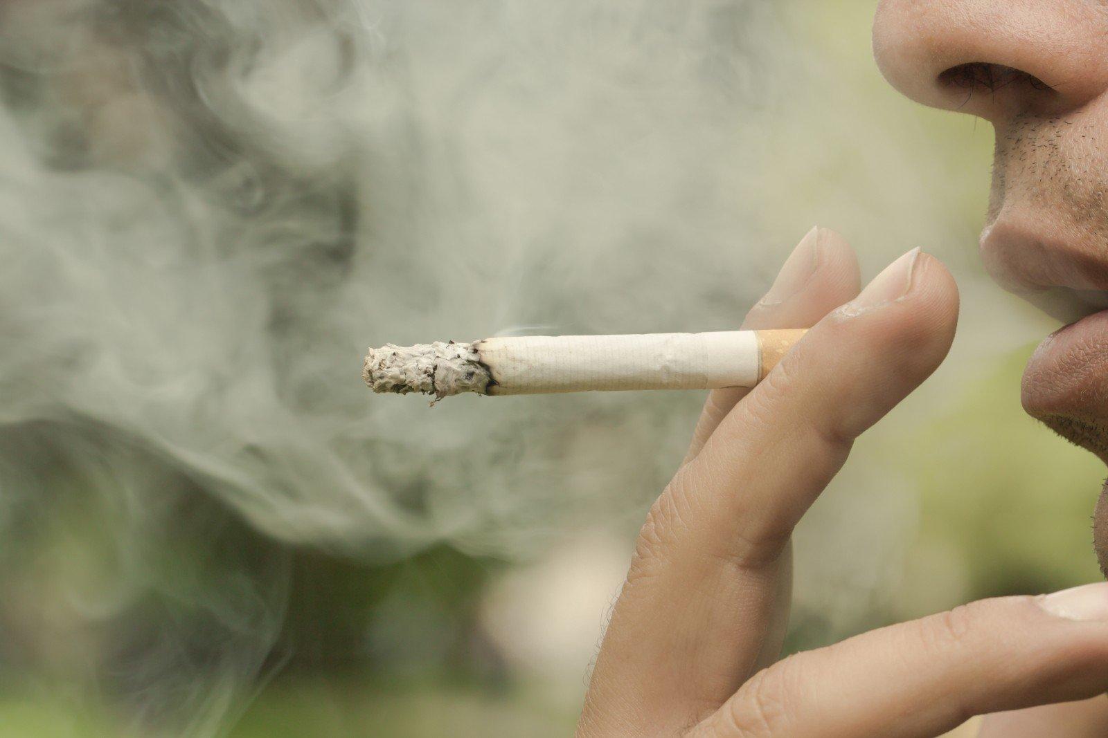 palaiko iš cigarečių gali pakenkti